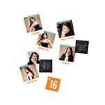 Big Impression Photo Table Decor -- Graduation Party Decorations