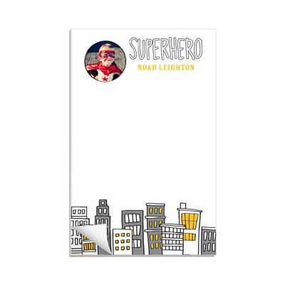 Searching for Superheroes Custom Notepads