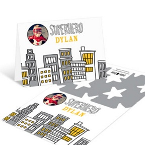 Superhero Photo -- Thank You Cards