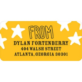Searching for Superheroes -- Address Labels
