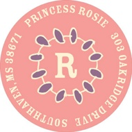 Crown Me Princess Address Labels