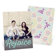 Rejoice Vertical Photo Easter Photo Cards