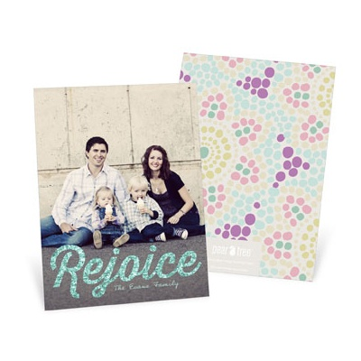 Rejoice Vertical Photo -- Easter Photo Cards