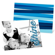Shine On Horizontal Hanukkah Cards