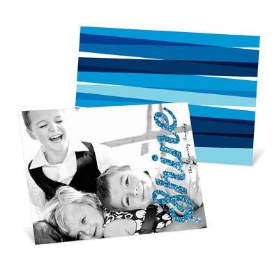 Shine On Horizontal Hanukkah Cards