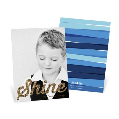 Shine On Vertical Hanukkah Cards