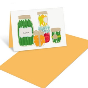 Homemade Goodness -- Mini Note Cards