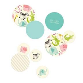 Alphabet Animals Table Decor -- Baby Shower Decorations