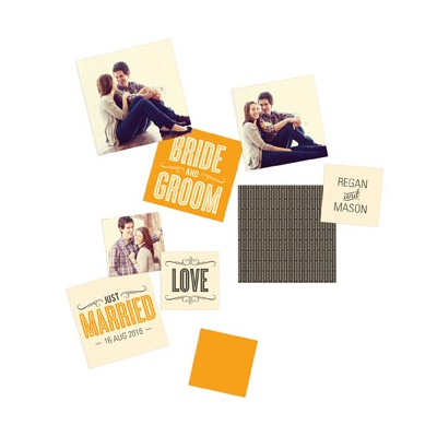 Happily Ever Photos Table Decor Wedding Decorations