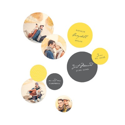 Signature Style With Photos Table Decor Wedding Decorations