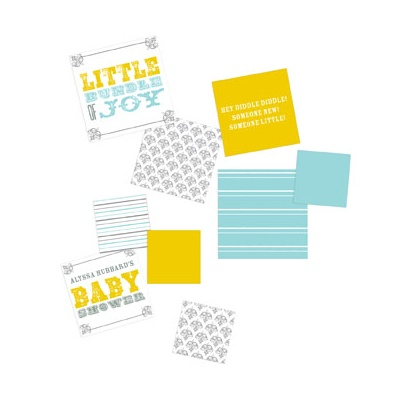 Personalized Poster Table Decor Baby Shower Decorations