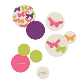 Butterflies Table Decor -- Baby Shower Decorations