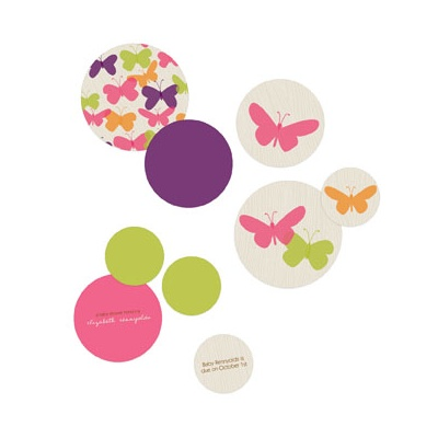 Butterflies Table Decor Baby Shower Decorations