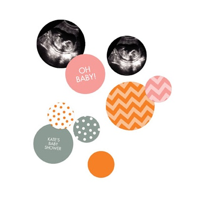 Dots And Chevrons Table Decor Baby Shower Decorations