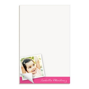 Picture of Me -- Custom Notepads