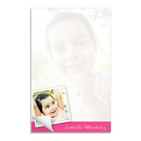Pictures of Me -- Custom Notepads