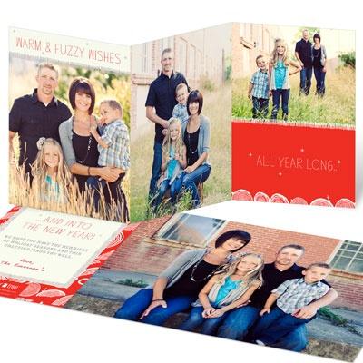 Warm & Fuzzy Holiday Photo Cards
