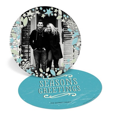 Circle Of Charm Holiday Photo Cards