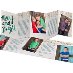 Icicle Lights -- Christmas Cards