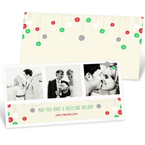 Dazzling Decor -- Christmas Cards