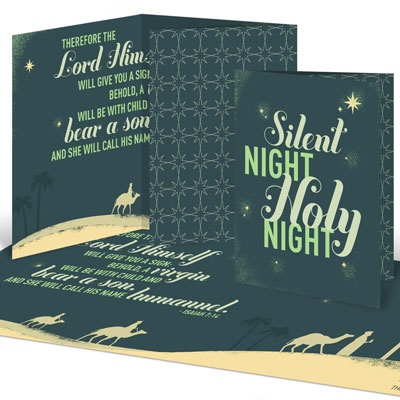 Christmas Story Unfolds Religious Christmas Cards