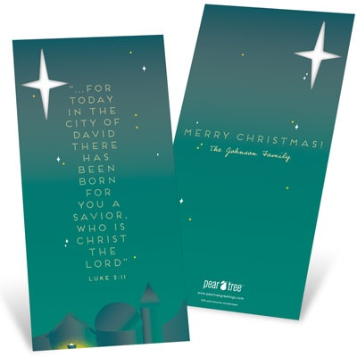Today Is Born Religious Christmas Cards