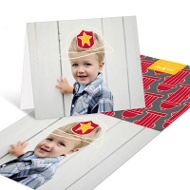 Sound The Alarm Firefighter Kids Thank You Cards