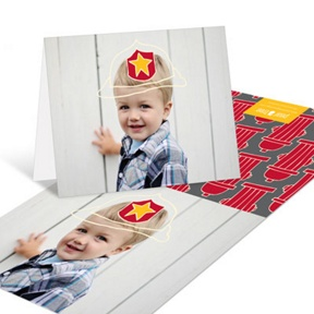 Sound The Alarm Firefighter -- Kids Thank You Cards