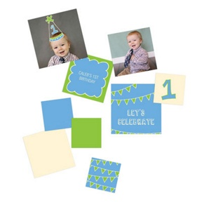 First Party Hat -- Kids Party Decorations