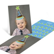 First Party Hat Kids Thank You Cards