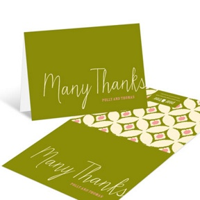 Coming Soon -- Baby Shower Thank You Cards