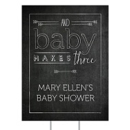 Chalk Art Yard Sign Baby Shower Decorations