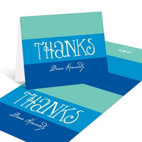 Showers Ahead -- Bridal Shower Thank You Cards