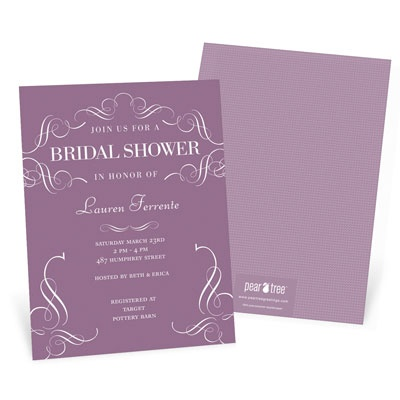 Get Fancy Bridal Shower Invitations