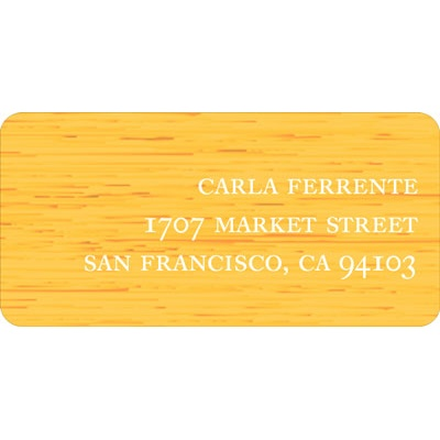 Tea Party Wedding Address Labels