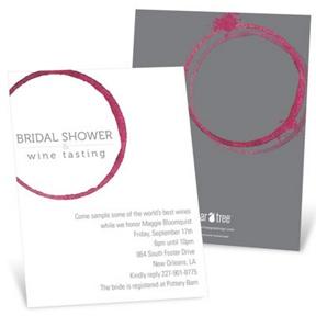 Share the Wine -- Bridal Shower Invitations