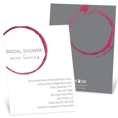 Share the Wine Bridal Shower Invitations