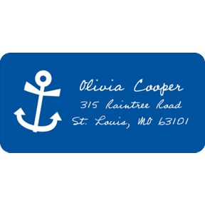 Setting Sail -- Wedding Address Labels