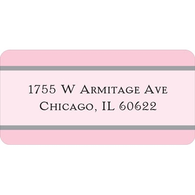 Lace Trim Wedding Address Labels