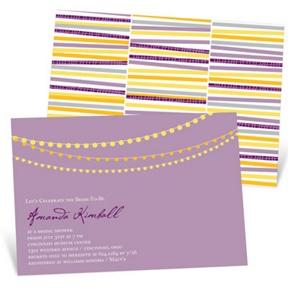 String The Lights -- Bridal Shower Invitations