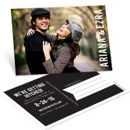 Oh You Two Save the Date Postcards