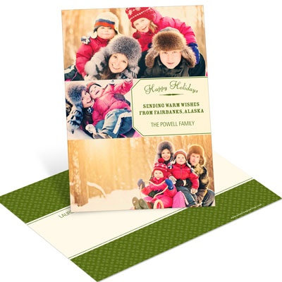 Gift Tag Greeting Postcard Photo Christmas Cards