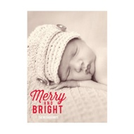 Photo Paper Favorite Carols Vertical Christmas Cards