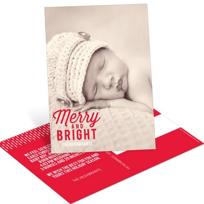 Favorite Carols Vertical Photo Postcard Photo Christmas Cards
