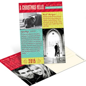 Photo Montage and Memories Postcard -- Christmas Cards