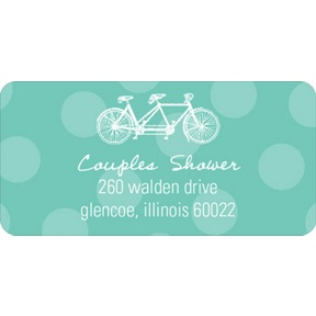 His & Hers -- Wedding Address Labels