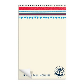 Anchors Away -- Custom Notepads