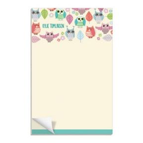 Feeling Owly -- Custom Notepads