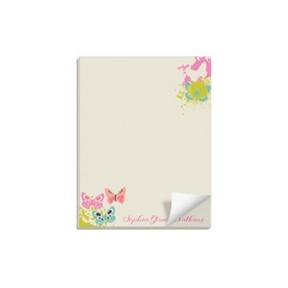 Butterfly Garden -- Custom Notepads