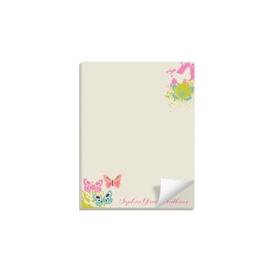 Butterfly Garden Custom Notepads